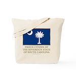 South Carolina Proud Citizen Tote Bag