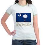 South Carolina Proud Citizen Jr. Ringer T-Shirt