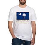South Carolina Proud Citizen Fitted T-Shirt