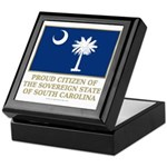 South Carolina Proud Citizen Keepsake Box