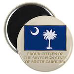 South Carolina Proud Citizen Magnet