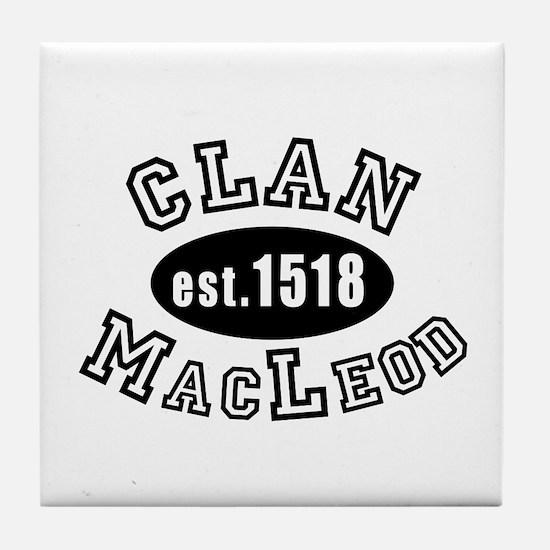 Clan MacLeod Tile Coaster