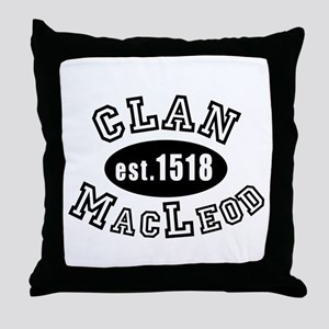 Clan MacLeod Throw Pillow