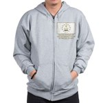 Proud Citizen of Rhode Island Zip Hoodie
