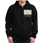 Proud Citizen of Rhode Island Zip Hoodie (dark)