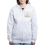 Proud Citizen of Rhode Island Women's Zip Hoodie