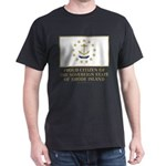 Proud Citizen of Rhode Island Dark T-Shirt