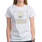 Proud Citizen of Rhode Island Women's T-Shirt