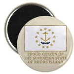 Proud Citizen of Rhode Island Magnet
