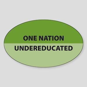 One Nation Oval Sticker