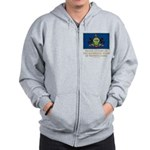Pennsylvania Proud Citizen Zip Hoodie
