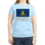 Pennsylvania Proud Citizen Women's Light T-Shirt