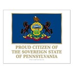 Pennsylvania Proud Citizen Small Poster