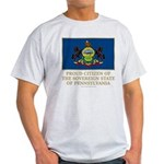 Pennsylvania Proud Citizen Light T-Shirt