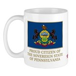 Pennsylvania Proud Citizen Mug