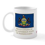 Pennsylvania Proud Citizen Mug