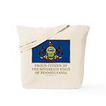 Pennsylvania Proud Citizen Tote Bag
