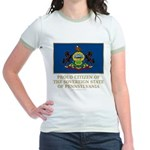Pennsylvania Proud Citizen Jr. Ringer T-Shirt