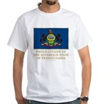 Pennsylvania Proud Citizen White T-Shirt