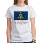 Pennsylvania Proud Citizen Women's T-Shirt