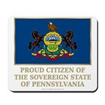 Pennsylvania Proud Citizen Mousepad