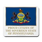 Pennsylvania Proud Citizen Mousepad