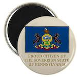 Pennsylvania Proud Citizen Magnet