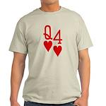 Qh 4h Poker Shirts Light T-Shirt
