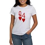 Qh 4h Poker Shirts Women's T-Shirt