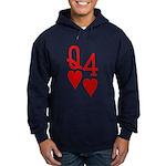 Qh 4h Poker Shirts Hoodie (dark)
