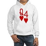 Qh 4h Poker Shirts Hooded Sweatshirt