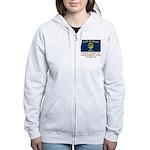 Oregon Proud Citizen Women's Zip Hoodie