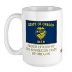 Oregon Proud Citizen Large Mug