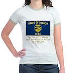 Oregon Proud Citizen Jr. Ringer T-Shirt