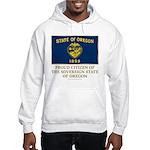 Oregon Proud Citizen Hooded Sweatshirt