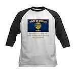 Oregon Proud Citizen Kids Baseball Jersey