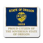 Oregon Proud Citizen Mousepad