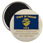 Oregon Proud Citizen Magnet