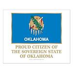 Oklahoma Proud Citizen Small Poster