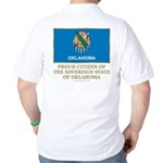 Oklahoma Proud Citizen Golf Shirt
