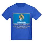 Oklahoma Proud Citizen Kids Dark T-Shirt