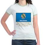 Oklahoma Proud Citizen Jr. Ringer T-Shirt