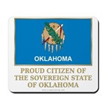 Oklahoma Proud Citizen Mousepad