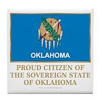 Oklahoma Proud Citizen Tile Coaster