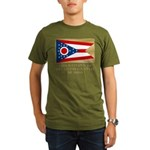 Ohio Proud Citizen Organic Men's T-Shirt (dark)