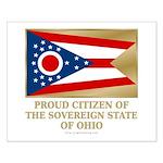 Ohio Proud Citizen Small Poster