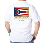 Ohio Proud Citizen Golf Shirt
