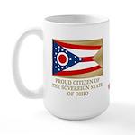 Ohio Proud Citizen Large Mug