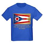 Ohio Proud Citizen Kids Dark T-Shirt