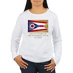 Ohio Proud Citizen Women's Long Sleeve T-Shirt